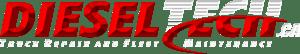 DIESEL-TECH-WHITE logo